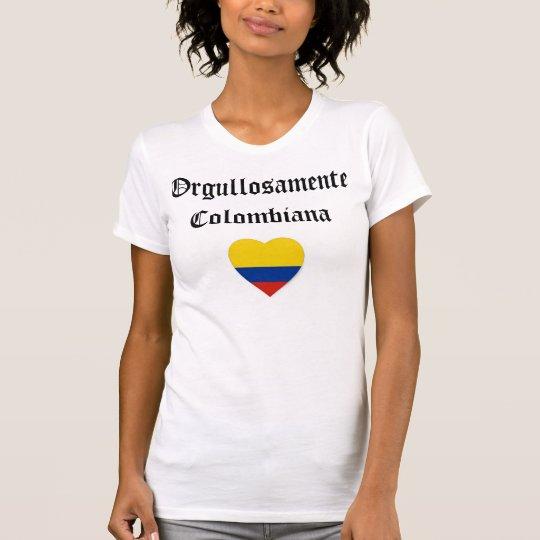 Orgullosamente Colombiana T-Shirt