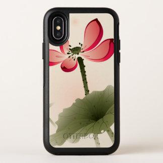 Orientalische Art Lotus OtterBox Symmetry iPhone X Hülle