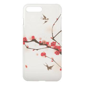 Orientalische Artmalerei, Pflaumenblüte im iPhone 8 Plus/7 Plus Hülle