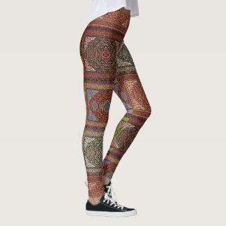 Orientalische persische Wolldecken Leggings