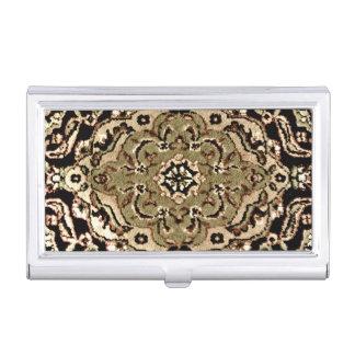 Orientalische Wolldecke Visitenkarten-Dosen
