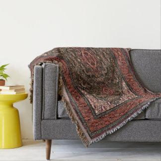 Orientalisches persisches antikes Rot Decke
