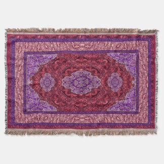 Orientalisches persisches Rosa Decke