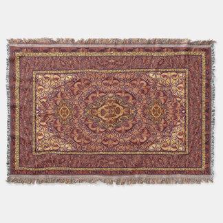 Orientalisches persisches rotes Gold Decke