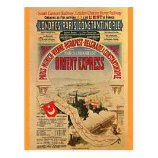 Orientexpress Postkarte