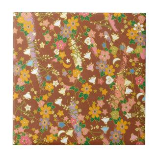 Origami Blumen u. Sterne Kleine Quadratische Fliese