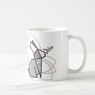 Origamikaninchen Kaffeetasse