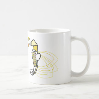 Origamiseepferdchen Kaffeetasse