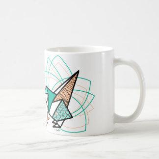 Origamivogel Kaffeetasse