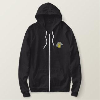 Oriole gehen voran bestickter hoodie