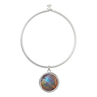 Orion Nebula Space Galaxy Bangle Charm Bracelet Armreif