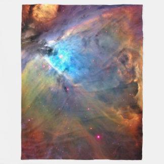 Orions-Nebelfleck-Raum-Galaxie Fleecedecke