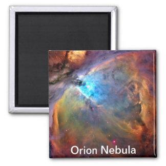 Orions-Nebelfleck-Raum-Galaxie Quadratischer Magnet