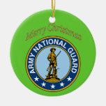 Ornement de Noël de garde nationale d'armée