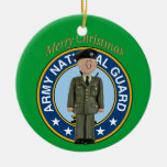 Ornement de Noël de soldat de garde nationale