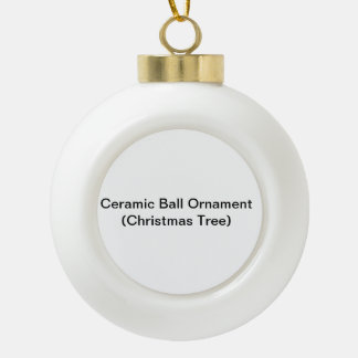 Ornement en céramique de boule (arbre de Noël)