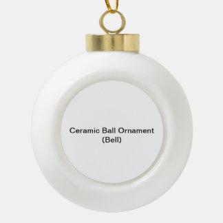 Ornement en céramique de boule (Bell)