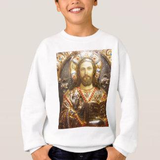 Orthodoxe Ikone Lord-Jesus Christus Sweatshirt