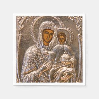 Orthodoxe Ikone Papierservietten