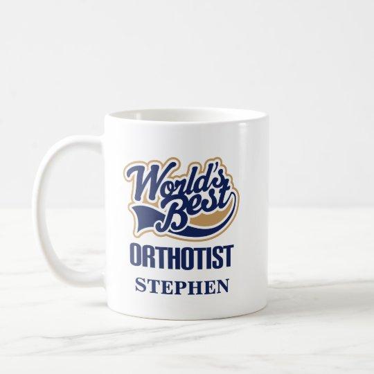 Orthotist personalisiertes Tassen-Geschenk Tasse