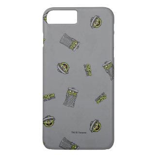 Oscar das graue Muster der Klage-| iPhone 8 Plus/7 Plus Hülle