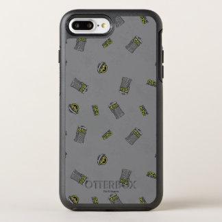 Oscar das graue Muster der Klage-| OtterBox Symmetry iPhone 8 Plus/7 Plus Hülle