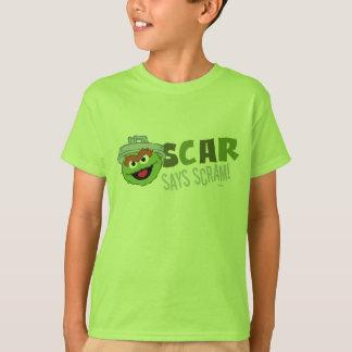 Oscar, den die Klage Scram T-Shirt