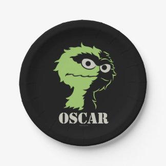 Oscar die Klage halb Pappteller