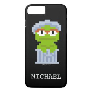 Oscar die Klage-Pixel-Kunst | addieren Ihren Namen iPhone 8 Plus/7 Plus Hülle