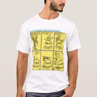 Osgar und Adolf gehen T - Shirt auf die Jagd (A.D.