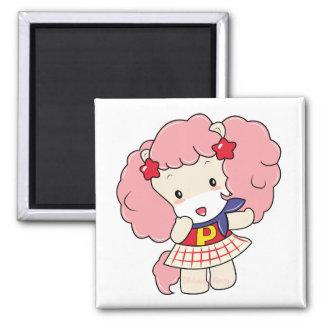 """Osharena Pony """"Fuwa-Fuwa"""" Kawaii Magnet"""