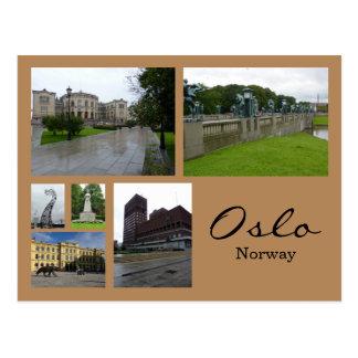Oslo-Collage 1 Postkarte