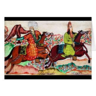 Osmane-edle Gruß-Karte Karte