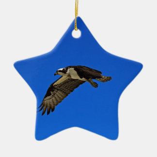 Osprey im Flug II Keramik Ornament