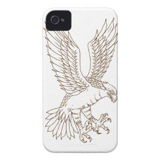 Osprey-Swooping Zeichnen Case-Mate iPhone 4 Hülle