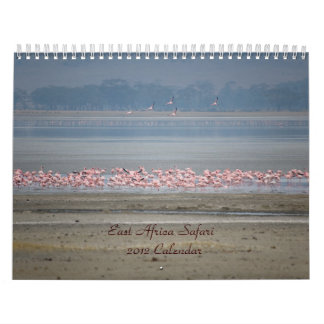 Ostafrika-Safari-Kalender Abreißkalender