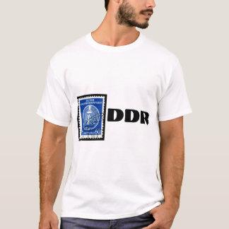 Ostdeutscher T - Shirt mit DDR-Briefmarke