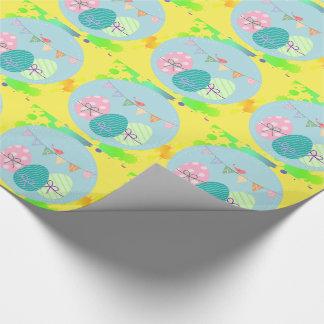 Osterei in den multi Farben Geschenkpapier