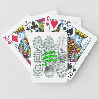 Ostereier Poker Karten