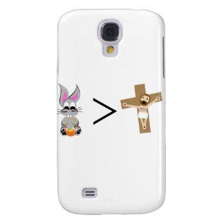 Osterhase ist größer als Jesus Galaxy S4 Hülle