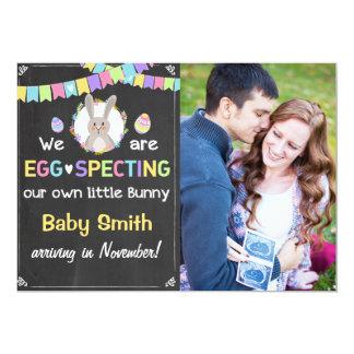 Osterhasen-Schwangerschaft decken Mitteilung auf 12,7 X 17,8 Cm Einladungskarte