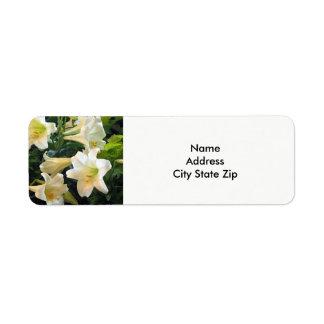 Osterlilien-Aufkleber