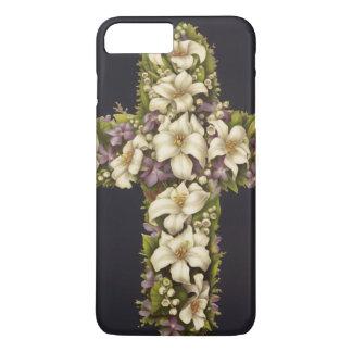 Osterlilien-Kreuz iPhone 8 Plus/7 Plus Hülle