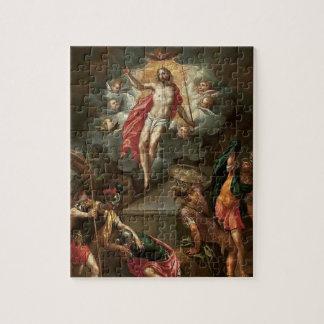 Ostern die Auferstehung von Jesus-Puzzlespiel
