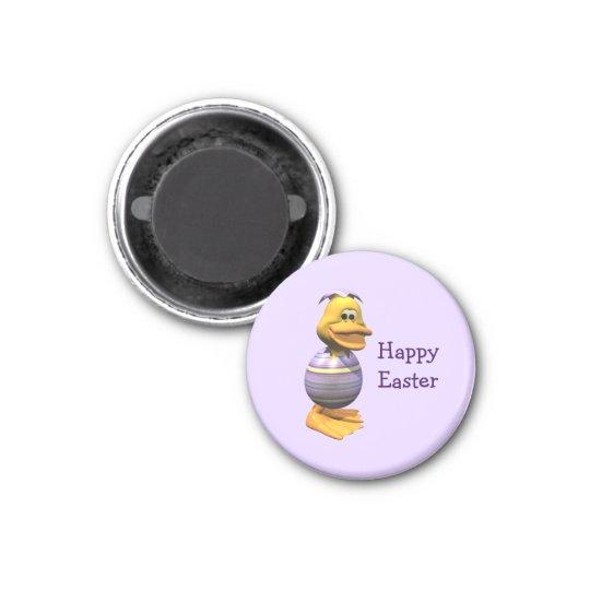 Ostern-Ente Runder Magnet 3,2 Cm