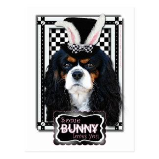 Ostern - etwas Häschen-Lieben Sie - Kavalier Postkarte