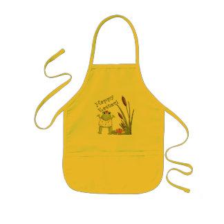 Ostern-Frosch-T-Shirts und Ostern-Geschenke Kinderschürze