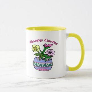 Ostern-Frühlings-Blumen-T-Shirts und Geschenke Tasse