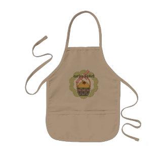 Ostern-Küken-T-Shirts und Geschenke Kinderschürze