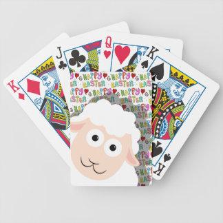 Ostern-Lamm Poker Karten